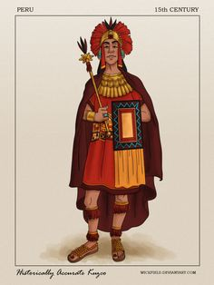 """Historically Accurate Kuzco by Wickfield.deviantart.com on @DeviantArt - From """"The Emperor's New Groove""""; click the pin for a thorough historical description"""