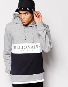 Billionaire Boys Club Hoodie In Cut & Sew
