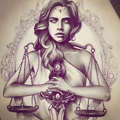 Image may contain: 1 person Time Tattoos, Leg Tattoos, Body Art Tattoos, Sleeve Tattoos, Cool Tattoos, Libra Zodiac Tattoos, Libra Tattoo, Framed Tattoo, Tatoo Art