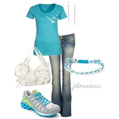 """An everyday kind of outfit"" by jklmnodavis on Polyvore"