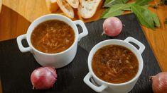 Une recette de Marc Maulà Chili, Ethnic Recipes, Canada, Food, Marina Orsini, Jet, Caramelized Onions, Gazpacho, Confit Duck Leg