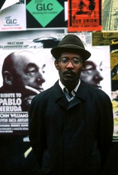 LINTON KWESI JOHNSON © Eve Arnold <3 dub poetry