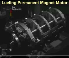 ARCHIVE: Lueling Permanent Magnet Motor featured on German Cinema News Magnetic Motor, Alternative Energy, Renewable Energy, 20 Years, Good To Know, Unity, Archive, German, Engineering