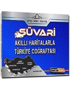 2017 KPSS Süvari Akıllı Haritalarla Türkiye Coğrafyası Kariyer Meslek Yayınları