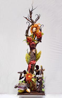 Piece artistica in cioccolato di The Star of Chocolate