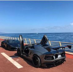 Lamborghini Meeting With A View ⛵️💭Change your mind, Change your life! Fast Sports Cars, Fast Cars, Sport Cars, Car Images, Car Pictures, Convertible, Automobile, High End Cars, Liberty Walk