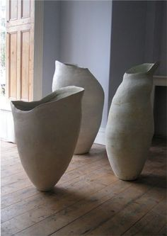 'Pregnant Silence' which won a prize at the Faenza International Ceramic Art Competition in 2005 largest 113cm x 57cm by Tony Lattimer: