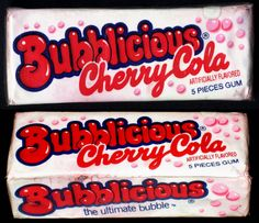Discover more of the best Fuffr, Bubblicious, Cherry, Cola, and Bubble inspiration on Designspiration Retro Candy, Vintage Candy, Vintage Toys, 1980s Candy, Vintage Stuff, Retro Vintage, Great Memories, Childhood Memories, Childhood Toys