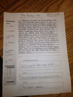 Genius Paragraph--Whole Brain Teaching