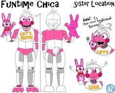 She should've been a character. ;w; Oh well, she exists in my AU X3 Enjoy! The original design of FT Chica is here - i.redd.it/vkcr3mu82cty.png Artwork (c) Me FNaF (c) Scott Cawthon Style (c) Rebor...