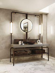 Bathroom at the Pier One Hotel, Sydney / Bates Smart