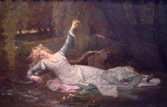 カバネル 「オフィーリア」 1883 77 x 117.5 cm