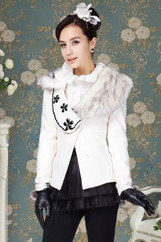 Fashion V Neck Long Sleeve Single Breasted Coat