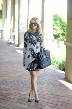 A Spoonful of Style: Floral Shift Dress...