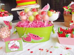 Strawberry & Watermelon Party