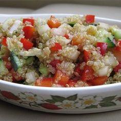 Mediterraner Quinoa Salat Rezept