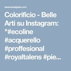 "Colorificio - Belle Arti su Instagram: ""#ecoline #acquerello #proffesional #royaltalens #piemonte #torino #sfumaturedicolore #ig_today #art #artist #follow #likeback #colorista…"""