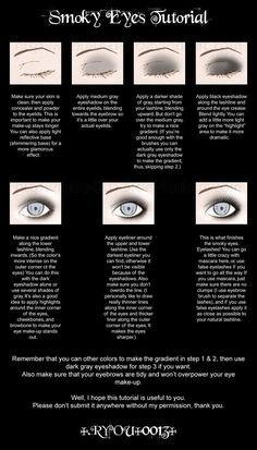 Smoky Eyes Tutorial. Let's see if I can.