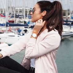 Fab blazer   www.sosueme.ie   #SOSUlashes #sosu #sosueme #sosubysuzannejackson #suzannejackson #lookbook #blogger #blog #eyelashes #eyes #sunglasses #ponytail #blazer #pink #pinkblazer #jacket #pier #boats #water #sea #makeup #eyemakeup #fakelashes #sosueme #fakeeyelashes #fab #cateyes #eyeliner #SOSU #clearskin #CLUSE #Watch #clusewatch #hair #falsies #falselashes