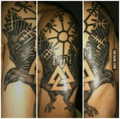 I just made a tattoo about the Nordic mythology. What do you thinks guys? Sorry for the quality of the photo.