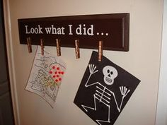 perfect for hanging kids art!