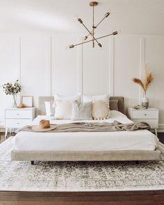 Room Ideas Bedroom, Dream Bedroom, Home Decor Bedroom, Modern Boho Master Bedroom, Master Bedroom Minimalist, Master Bedroom Design, Condo Bedroom, Cozy Master Bedroom Ideas, Master Bedrooms