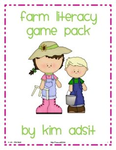 If you have purchased any of Kim's math game packs, this packet will be a must have! This packet contains 4 different literacy games centered aro...