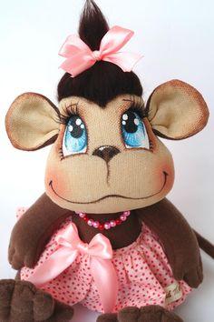 обезьянка от Татьяны Митрейкиной