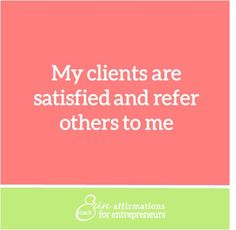 Affirmations for Self Employed Women Business Owners from Coach Erin www.ecoacherin.com