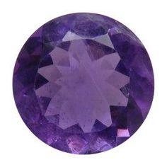 9.40 ct Round Amethyst Deep Rich Purple -Gold Crane & Co.