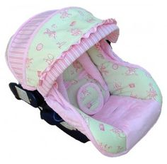 Making Baby Car Seat Covers Tutoria