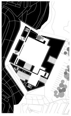 Gallery of Santo Tirso Call Center / Aires Mateus - 1 Masterplan Architecture, Architecture Drawings, Architecture Plan, Landscape Architecture, Relationship Drawings, Site Analysis, Plan Drawing, Site Plans, Master Plan