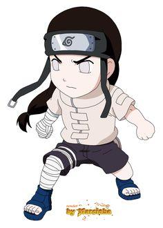 Neji chibi from Naruto Naruto Sd, Anime Naruto, Naruto Chibi, Naruto Cute, Naruto Funny, Anime Chibi, Kawaii Anime, Manga Anime, Kakashi Sensei