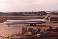 Aeroflot Soviet Airlines Ilyushin IL-62M taxiing at London-Heathrow