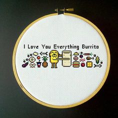 shatteredwish:i love you everything burrito