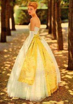 Lemon Zest Yellow Wedding Inspiration Vintage 1950s Bride in Spring