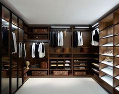 Walk In Wardrobes For Men & Dream Closet Inspiration