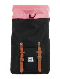 Amazon.com: Herschel Supply Co. Little America Mid-Volume, Navy/Red/Tan, One Size: Clothing