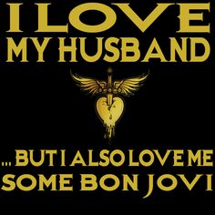 Husband Bon Jovi Tank Top