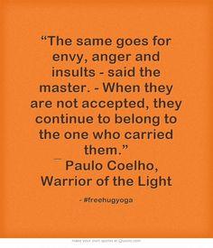 Quote pendant necklace Paulo Coelho - large long black white ...