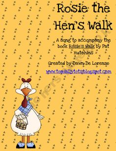 FREE! A song to go along with Rosie's Walk by Pat Hutchins :) What other picture books do you think would be great to have a song with?