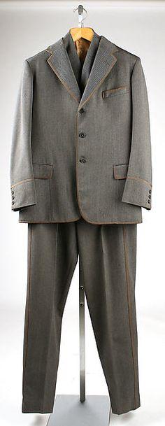 Suit - MMA Manufacturer: Sullivan, Williams & Co., Ltd. (British) Date: 1952 Culture: British Medium: wool