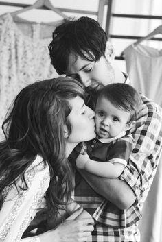 sweet family potrait