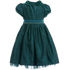 green smocked dress - Google Search