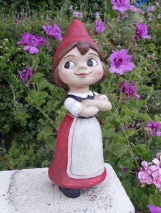 Juliet Gnome Garden Statue only $29.99 at Garden Fun - Female Gnomes