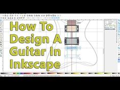 Planning and designing an electric guitar on paper | Project Electric Guitar