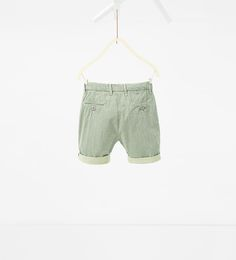 ZARA - KIDS - Jacquard Bermuda shorts
