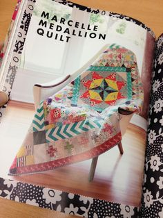 marcelle medallion quilt featured in liberty love book by alexia marcelle abegg, also in love quilting and patchwork magazine