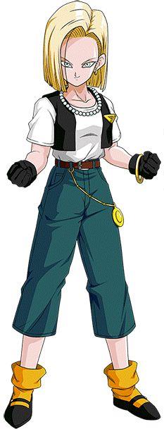 Android 18 (Cell Saga) render 4 [Dokkan Battle] by on DeviantArt Dragon Ball Z, Krillin And 18, Dbz Characters, Large Art, Community Art, Saga, Fangirl, Deviantart, Artist