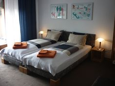 B&B of Miss Mettler in Morges - Douple room Decor, Bed, Furniture, Home Decor, Room